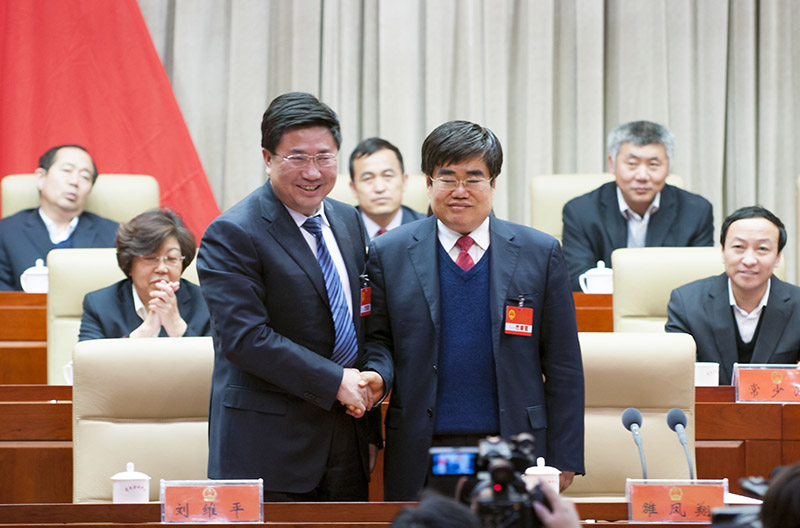 劉維平當選靖邊縣人民政府縣長
