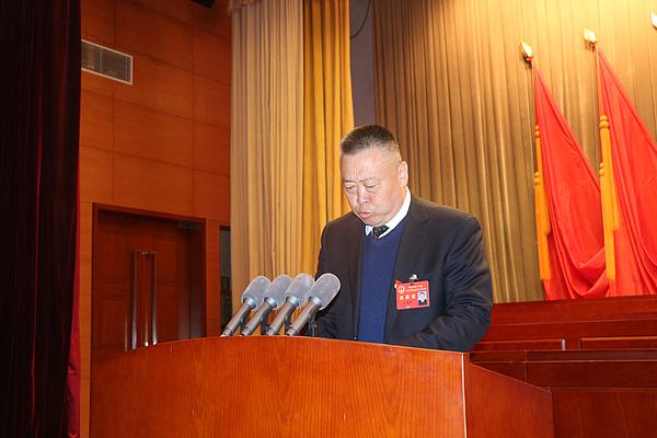 王建华作代表资格审查报告