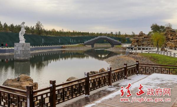 靖边aaa景区五台森林公园景色宜人